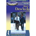 Bell-Horn Men's Executive 20-30 mmHg Stripes Sock in Black; Extra Large