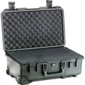 Pelican Storm Carry-On Case with Foam: 14.1'' x 21.7'' x 8.9''; OD Green