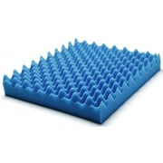 Lumex Wheelchair Pad Convoluted Foam Cushion; 18'' x 16'' x 3''