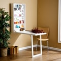 Wildon Home   Frank Fold-Out Craft Desk; White