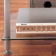 VTI AGR Series 30'' TV Stand; Silver