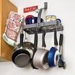 Enclume RACK IT UP! Accessory Shelf Wall Mounted Pot Rack