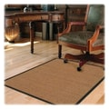 Deflecto Hard Floor Straight Edge Chair Mat; 0.1'' H x 46'' W x 60'' D
