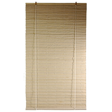 Oriental Furniture Bianco Jute Roller Blind; 48'' W x 72'' L