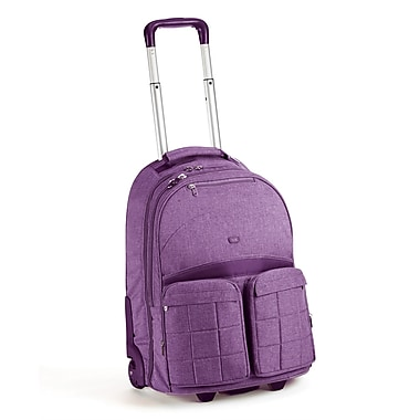 Lug Porter Roller Bag; Plum Purple