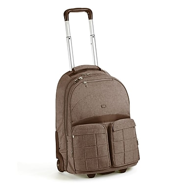 Lug Porter Roller Bag; Chocolate Brown