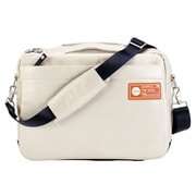 Pan Am 707 Messenger Bag; Stone White