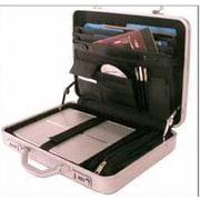 Bond Street Tech-Rite Slim Laptop Attache Case; Charcoal