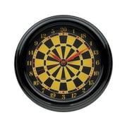 Cuestix Novelty Items 14'' Darts Wall Clock