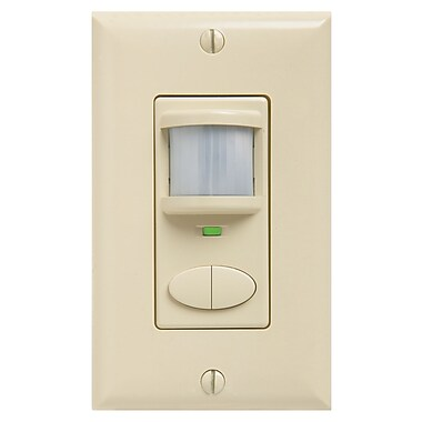 Lithonia Lighting Control Wall Switch Sensor; Ivory