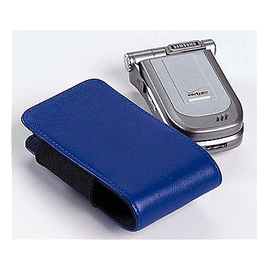 Clava Leather Large Leather iPod / Cell Phone Holder; Bridle Blue