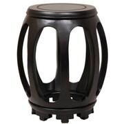 Oriental Furniture Pedestal Plant Stand; Matte Lacquer