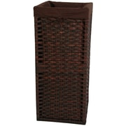 Oriental Furniture Laundry Hamper; Mocha