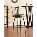 Wildon Home   Louisville 24'' Adjustable Swivel Bar Stool