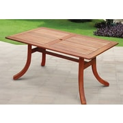 Vifah Atlantic Rectangular Dining Table