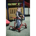 Drive Medical Comet Anterior Gait Trainer in Red; Pediatric