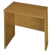 Bush Quantum 30'' H x 29.25'' W Right Desk Return; Modern Cherry
