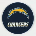 DuckHouse NFL Coasters (Set of 4); San Diego Chargers