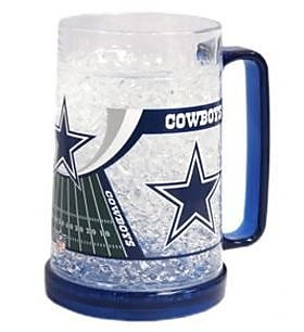 DuckHouse NFL 16 Oz. Beer Glass; Dallas Cowboys WYF078276161726