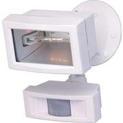 Nuvo Lighting 1 Light Flood Light with Motion Sensor; White