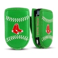 Gamewear MLB Leather Cell Phone Holder; Boston Red Sox - St Patricks Day