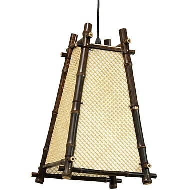 Oriental Furniture Japanese 1-Light Mini Pendant