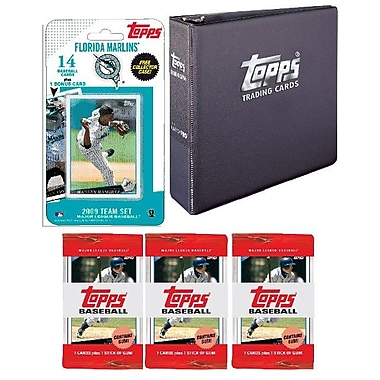 Topps MLB 2009 Trading Card Set - Florida Marlins
