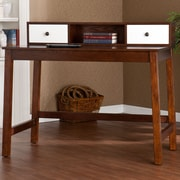 Wildon Home   Bentley Writing Desk with Hutch