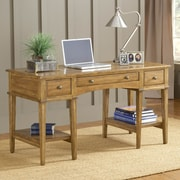 Hillsdale Gresham Writing Desk; Medium Oak