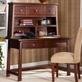 Wildon Home   Laurent Writing Desk with Hutch