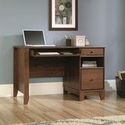 Sauder Camarin Computer Desk; Milled Cherry