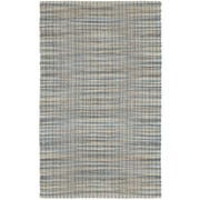 LR Resources Natural Fiber Navy Area Rug; 5' x 7'9''