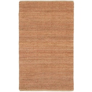 LR Resources Natural Fiber Red Area Rug; 5' x 7'9''