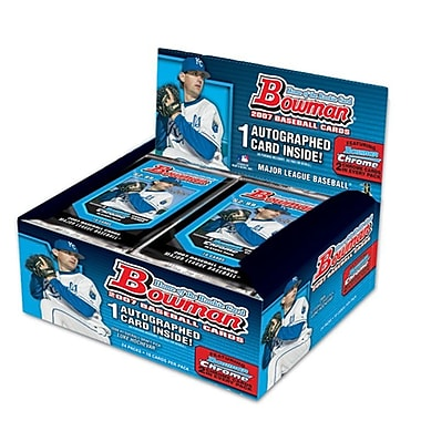 Topps MLB 2007 Trading Cards - Bowman (24 Packs)