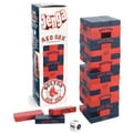 USAopoly MLB Collector's Edition Baseball Jenga Game; Boston Red Sox
