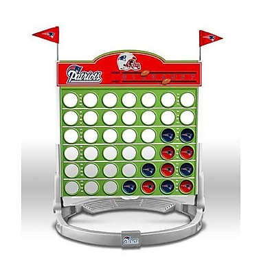 Promotional Partners Worldwide NFL Connect Four Game; New England Patriots