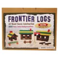 Ideal Wood Construction 220 pieces Frontier Logs in Canister