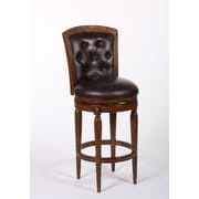Hillsdale Northfield 30'' Swivel Bar Stool with Cushion