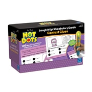Educational Insights Hot Dots Laugh It Up! Vocabulary Cards - Context Clues