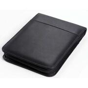 Clava Leather Vertical Junior Zip Padfolio