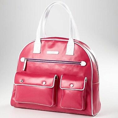Clava Leather Carina Gym Bag; Watermelon