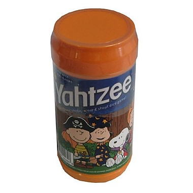 USAopoly Charlie Brown Great Pumpkin Yahtzee Game