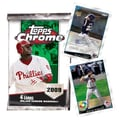 Topps MLB 2009 Trading Cards - Chrome Retail (24 Packs)
