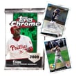 Topps MLB 2009 Trading Cards - Chrome Retail (24 Packs)