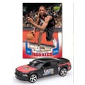 Upper Deck NBA Dodge Chargers Die-cast with Basketball Card - Philadelphia 76ers