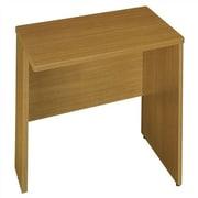 Bush Quantum 30'' H x 29.25'' W Left Desk Return; Modern Cherry
