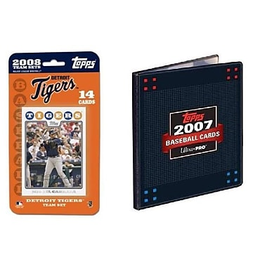 Topps MLB 2008 Trading Card Set - Detroit Tigers
