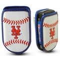 Gamewear MLB Leather Cell Phone Holder; New York Mets