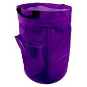 Casual Home Heavy Duty Laundry Duffle Bag; Dark Purple