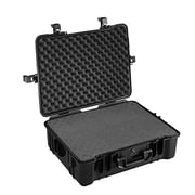 B&W Type 65 Black Outdoor Case; Sponge Inserts